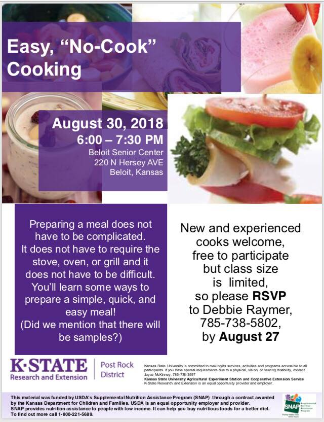8.30 cooking class