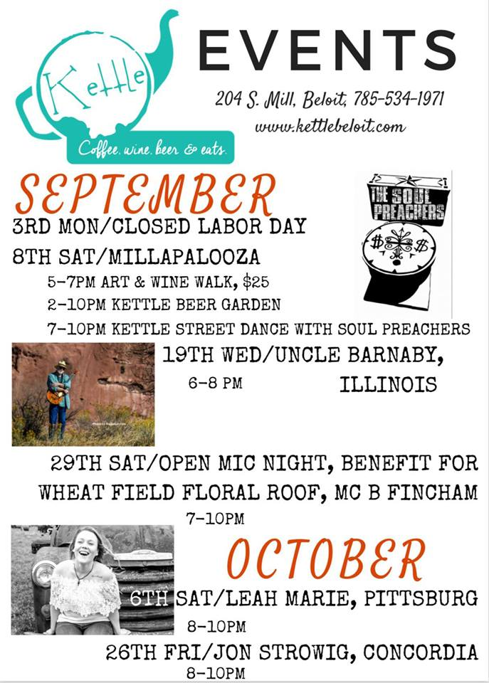 kettle events Oct.